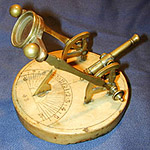 19th Century French Cannon/sundial.