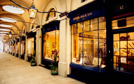 Peter Dale Ltd. in the Royal Opera Arcade